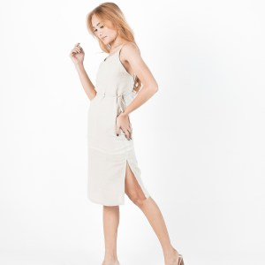 Isabella dress in Beige