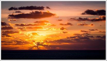Ré Island's sunset !