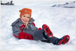 Alexis dans la neige