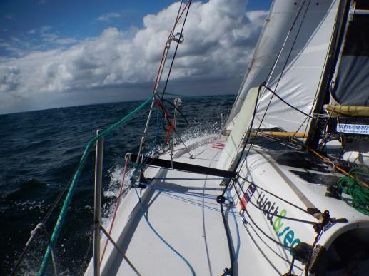 Convoyage La Trinité-Lorient. Dernière navigation.