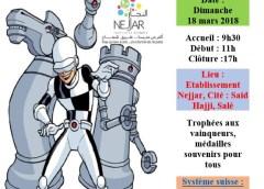 8ème tournoi national scolaire d'échecs: Amateurs et jeunes challengers à l'établissement Nejjar de Salé