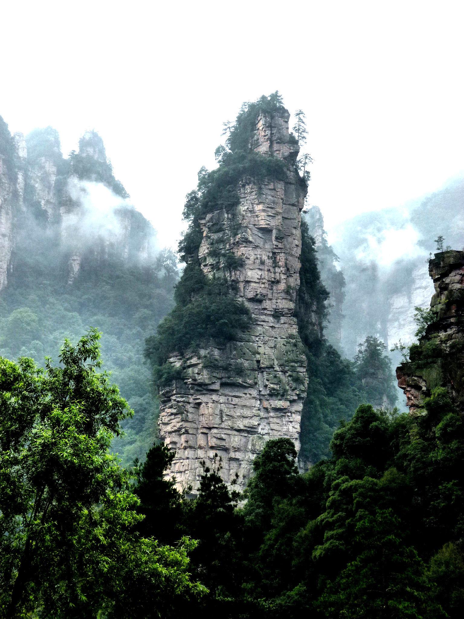 Rock Pillars: Zhangjiajie  (China) [56]