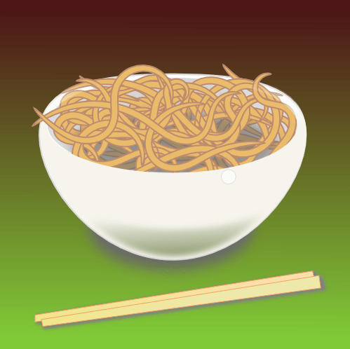 A bowl of noodles - lemasney.com