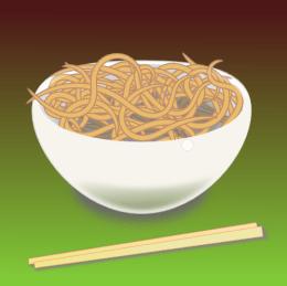 A bowl of noodles - lemasney.com