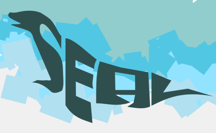 A seal made of text by John LeMasney via 365sketches.org #design#typography#Inkscape