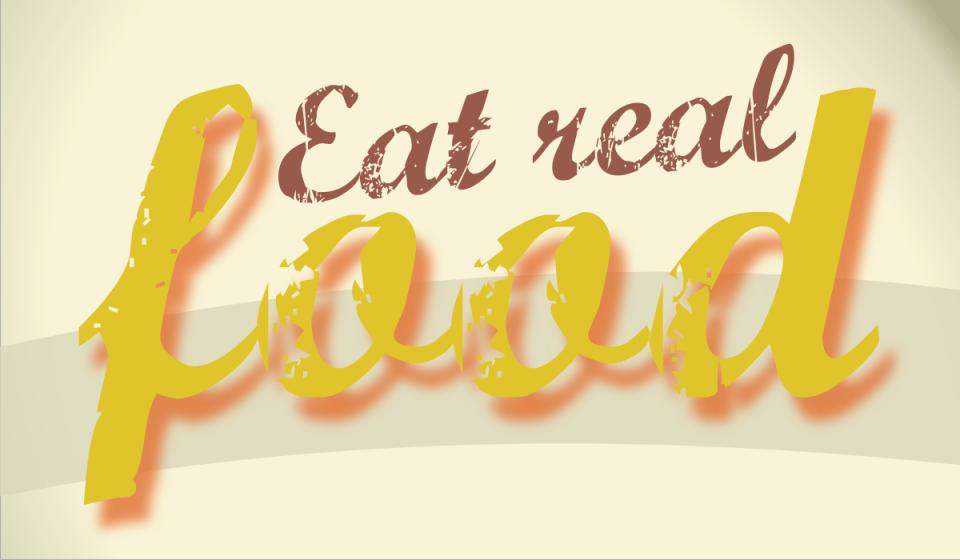 20121113: Eat real food by John LeMasney via 365sketches.org (cc-sa) #design