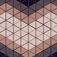 20121227: heart made of triangles by John LeMasney via 365sketches.org #creativecommons #design