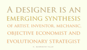 20121224: Designers as defined by Buckminster Fuller by John LeMasney via 365sketches.org #creativecommons #design
