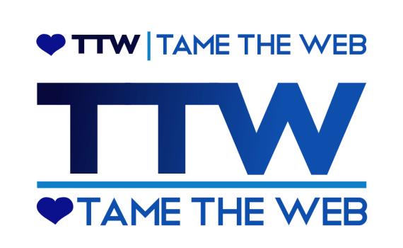 Tame The Web logo rev4 by John LeMasney via lemasney.com