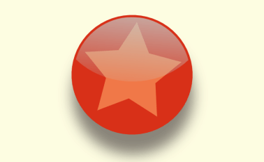 Glossy button effect in Inkscape