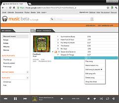 Music Beta by Google (aka Google Music)