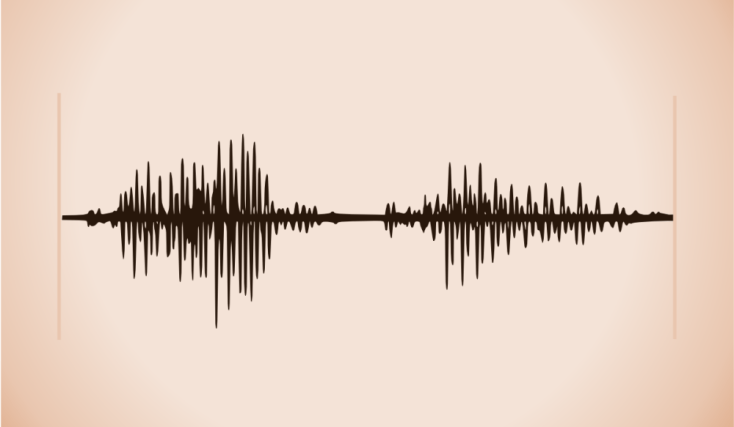 A waveform of me saying the word 'open' by lemasney.