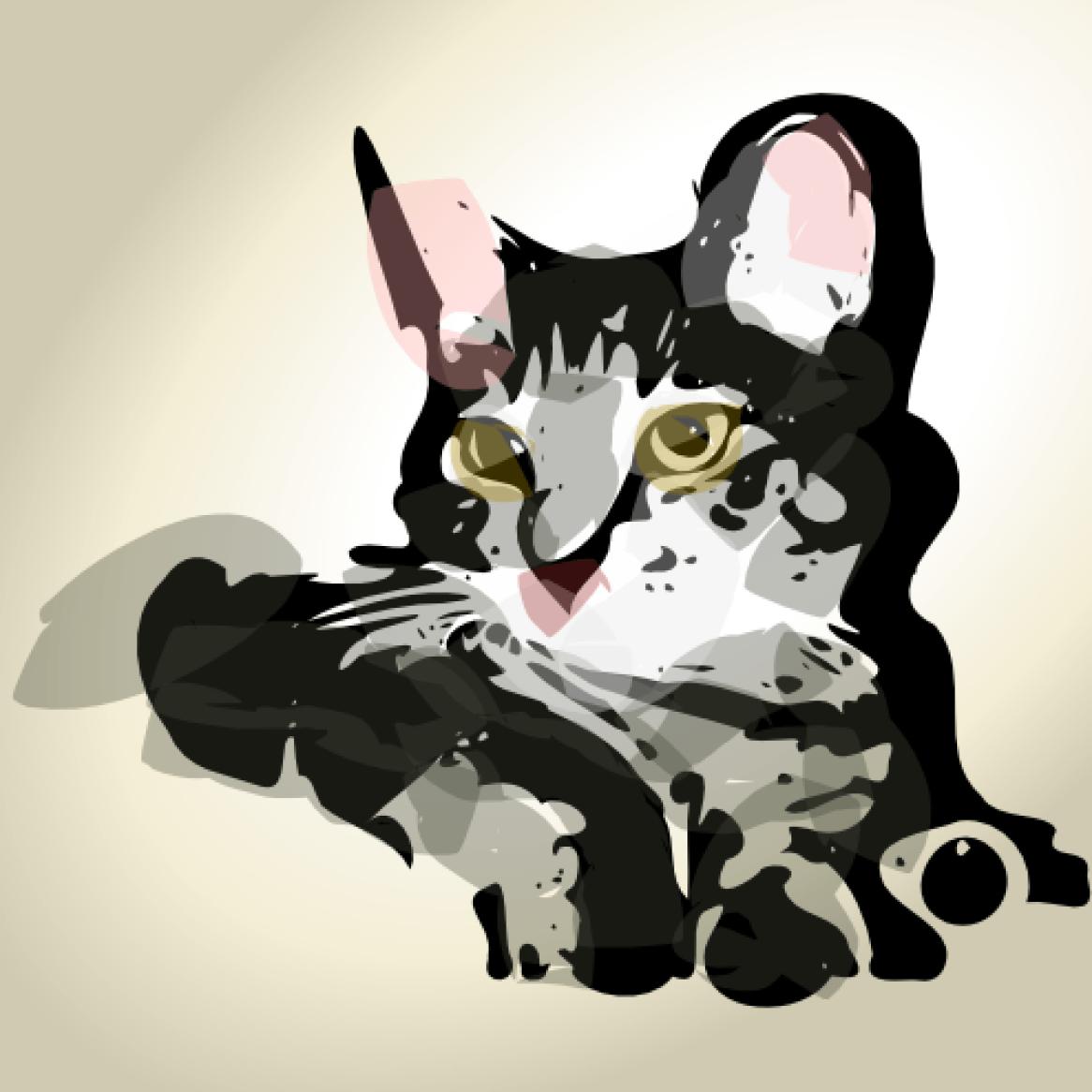 Cat by lemasney