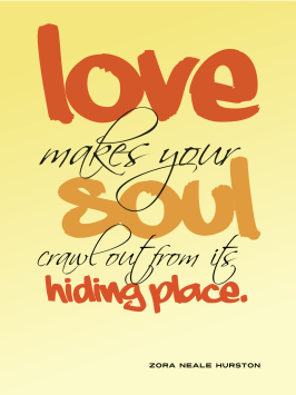 Love makes your soul - Zora Neale Hurston cc-by lemasney