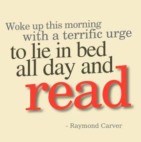 woke up this morning - raymond carver cc-by lemasney