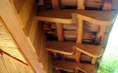 Jedediah Higgins House, Princeton, NJ, Exterior rafters, cc-by lemasney