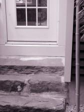 Jedediah Higgins House, Barriers, back door, cc-by lemasney