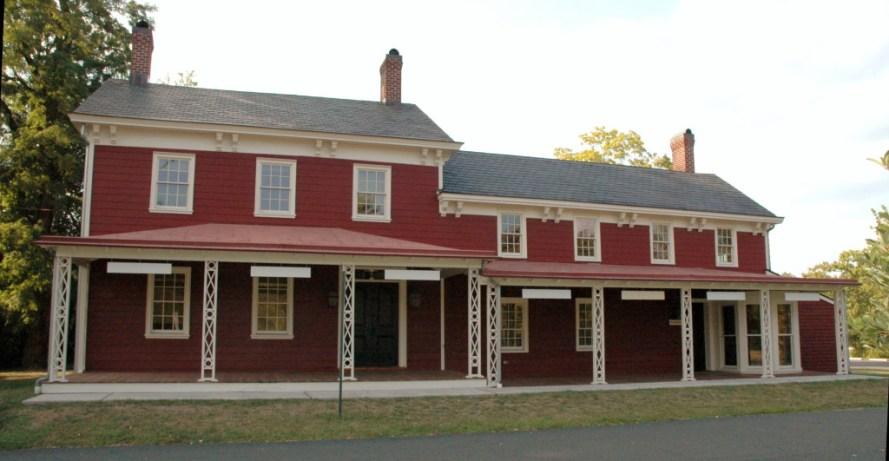Jedediah Higgins House, Princeton, NJ, Exterior, East facade, cc-by lemasney
