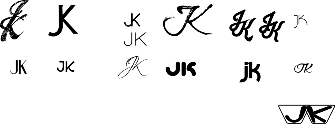 JK monogram study (in progress) cc-by lemasney