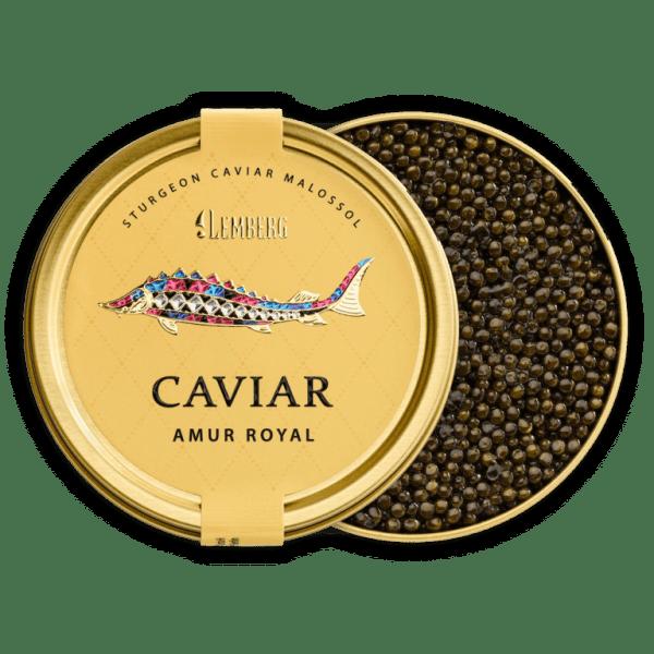 Sturgeon Caviar AMUR ROYAL