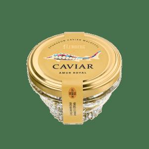 Sturgeon Caviar AMUR ROYAL, 50g