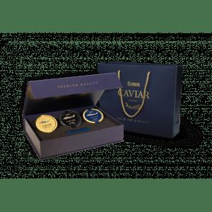 Gift Set of 3 caviar delicacies, 3 х 50 g