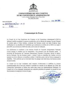 Haïti-Insécurité: Tentative d'enlèvement sur des cadres de la CSC/CA 1