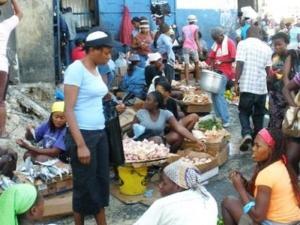 Haïti : Des petits commerçants de la Capitale se plaignent de la crise politique 2