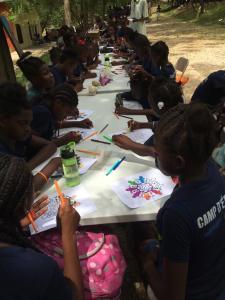 Haïti/Mirebalais: Le traditionnel camp d'été de Sommet Éducation, une activité prometteuse pour les jeunes 2
