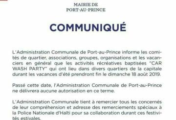 Haïti-Société: Fin des «Car Wash Party» à Port-au-Prince 10