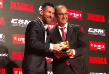 Sport : L'international Argentin Lionel Messi décroche son sixième soulier d'or 12