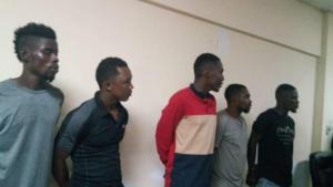 Haïti-Sécurité : Conférence bilan de la PNH, arrestation de plusieurs individus 1