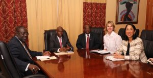 Haïti-Crise: Jovenel Moïse a rencontré la diplomate américaine Kelly Craft 1