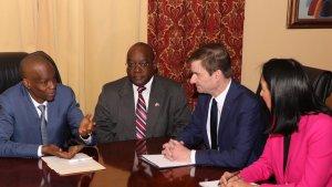 Haïti-Crise: Jovenel Moïse a rencontré le Sous-Secrétaire d'État américain David Hale 1