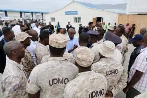 Haïti-PNH : Le Président Jovenel Moïse a rencontré des policiers au Cap-Haïtien ce vendredi 21 février 2020 1