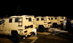 Haïti-Sécurité : Jovenel Moïse a remis des véhicules blindés aux autorités policières 1