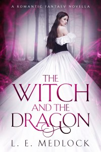 LE Medlock The Witch and the Dragon YA fantasy novella