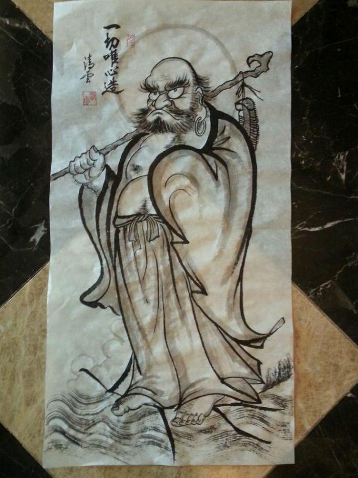 Bodhidharma le melting potes