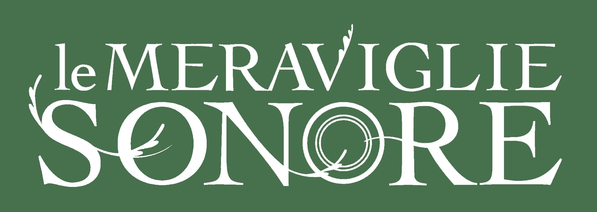 Le Meraviglie Sonore Sara Usai Logo