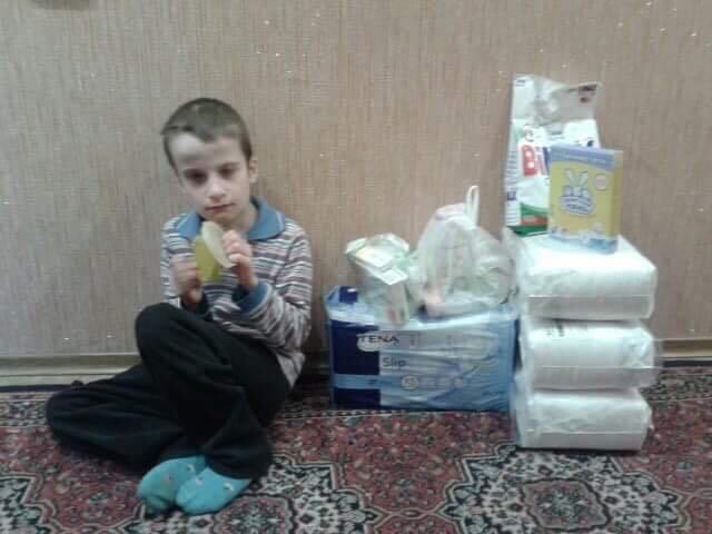 На2400 вмесяц. Как живут особые дети Донбасса