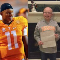 University of Tennessee Quarterback Inspires 11-Year-Old Girl Living With Alopecia in a Heart Felt Letter [VIDEO]