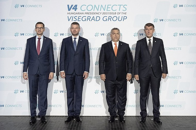 Le groupe de Visegrad entre l'influence des États-Unis et de l'Allemagne