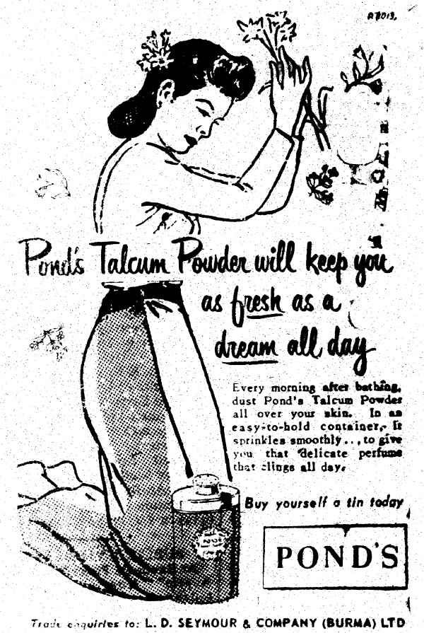 Staying Dreamflower-Fresh in 1954 Burma