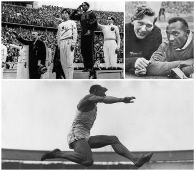 Jesse Owens et Hitler