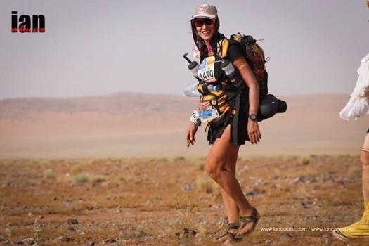 Le marathon des sables en sandales minimalistes