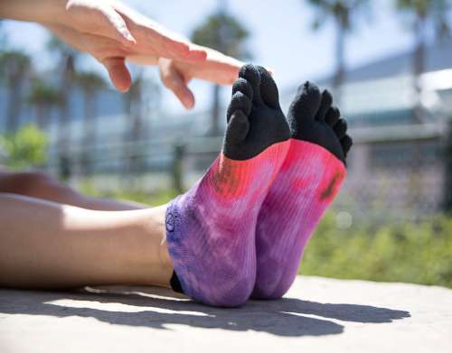 Chaussettes à doigts pour les Five Fingers