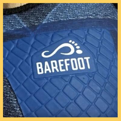 Logo barefoot chaussure minimaliste Merrell
