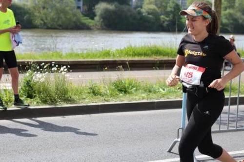Sandales minimalistes course sur route