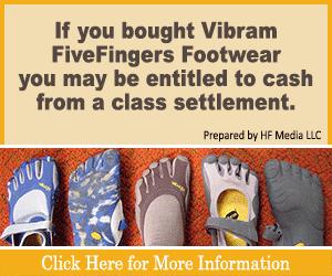 Vibram FiveFingers Class action