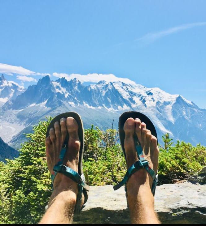 L'UTMB et mes sandales minimalistes